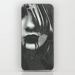 vampir of the naight iPhone Skin