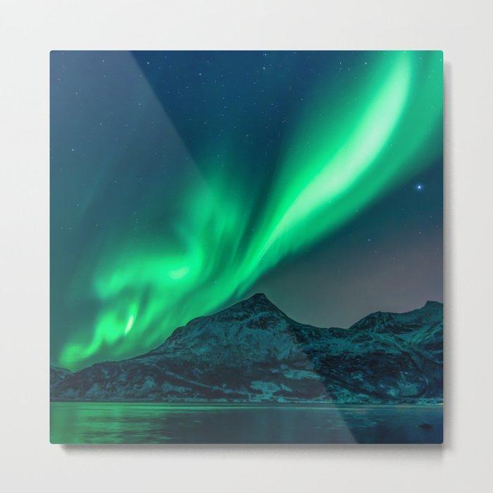 Aurora Borealis (Northern Lights) Metal Print