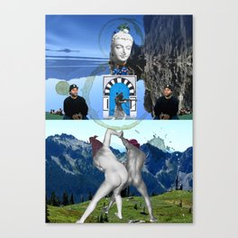 Azazel Known So Well Canvas Print