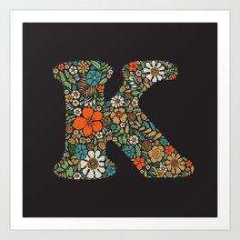 Letter K Art Prints For Any Decor Style Society6