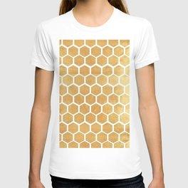 Gold honey bee T-shirt