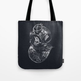 Macaque Diver Tote Bag