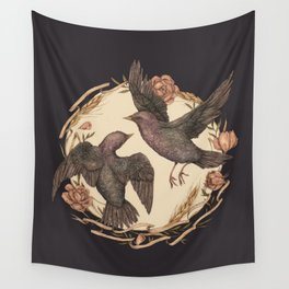 Starlings Wall Tapestry