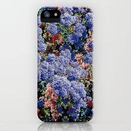 CEANOTHUS JULIA PHELPS ABSTRACT iPhone Case