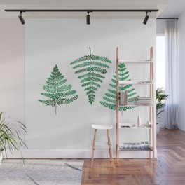 Fiordland Forest Ferns Wall Mural