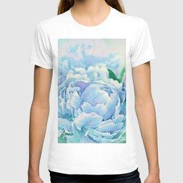 Blue Mist Peonies T-shirt