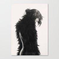 kili Canvas Prints featuring Raven kili by AlyTheKitten