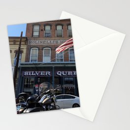 Silver queen Virgina city Nevada Stationery Cards
