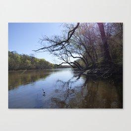 Cape Fear River Canvas Print