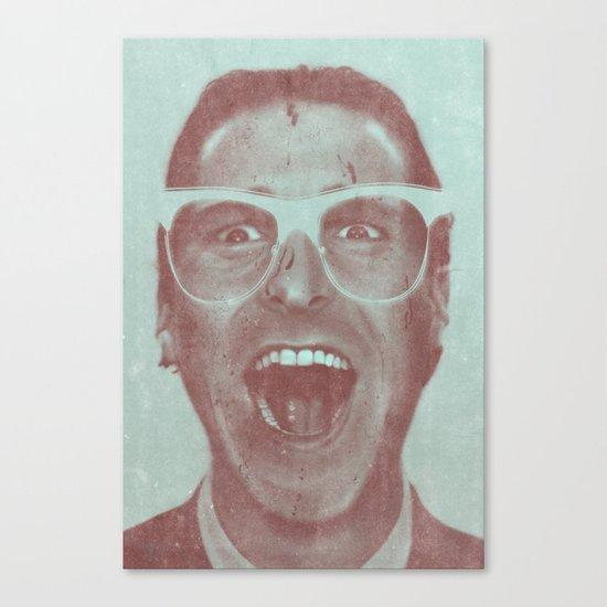 Patrick Bateman - The Hipster (Feat. Marta Macedo) Canvas Print