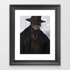 Mr. Griffin Framed Art Print