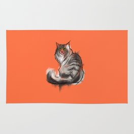 Norwegian Forest Cat Rug