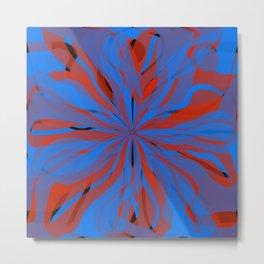 radial layers 20 Metal Print