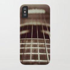 Strings  iPhone X Slim Case