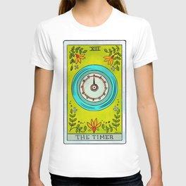 The Timer   Baker's Tarot T-shirt