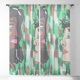 Lover's Cliché? Sheer Curtain