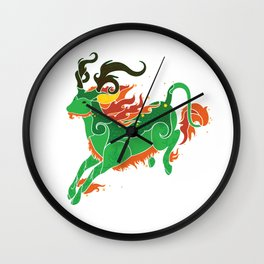 Qilin Wall Clock