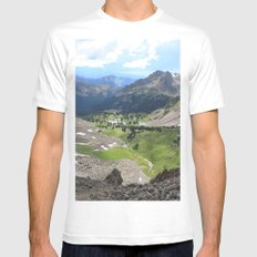 Willow Lakes Mens Fitted Tee White MEDIUM