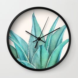 Agave Wall Clock
