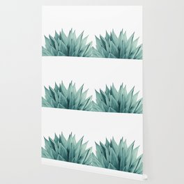 Agave Vibes #8 #tropical #decor #art #society6 Wallpaper