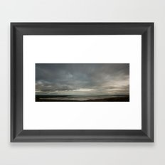 Strangford Panorama Framed Art Print