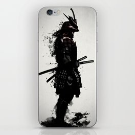 Armored Samurai iPhone Skin