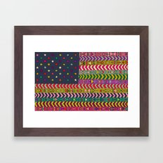 MY USA Framed Art Print