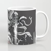 satan Mugs featuring Satan Girl by Poison Tree Design