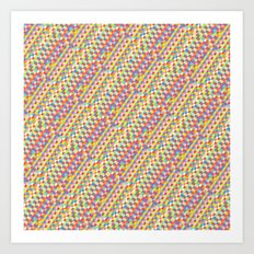 color tiles Art Print