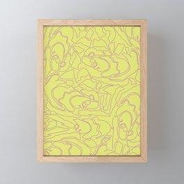 Pastel Pattern III Framed Mini Art Print