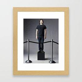 on display.  Framed Art Print