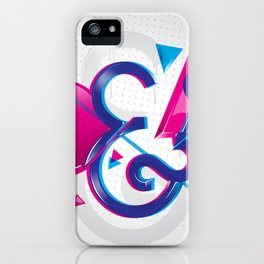 Circles & Triangles iPhone Case
