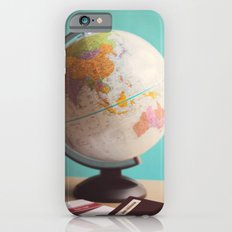 Travel planning iPhone 6 Slim Case