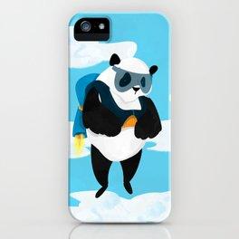 Jetpack Panda iPhone Case