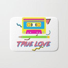 80s True Love Bath Mat