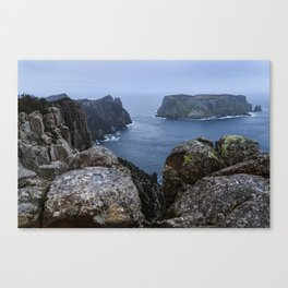 Tasman Island and the Blade Canvas Print