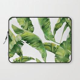 Plant Leaves Pattern Laptop Sleeve