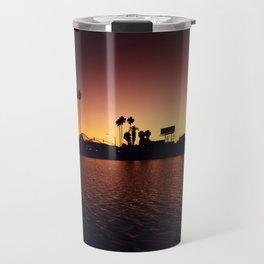 Mission Bay Belmont Park Sunset Travel Mug