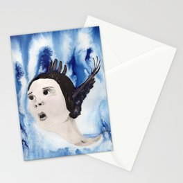 Emily Dickinson Flies Away Stationery Cards