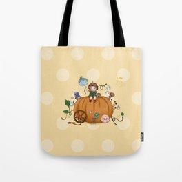 Pumpkin girl Tote Bag