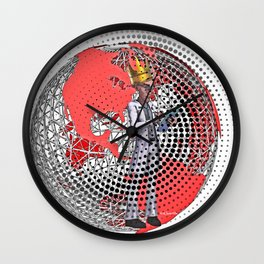 EXCUSE ME WHILE I DOCTOR Wall Clock