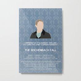 The Reichenbach Fall - John Watson Metal Print