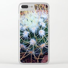 Thorny Web Clear iPhone Case