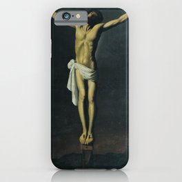 Christ Crucified iPhone Case