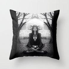 Meditate 2 Throw Pillow