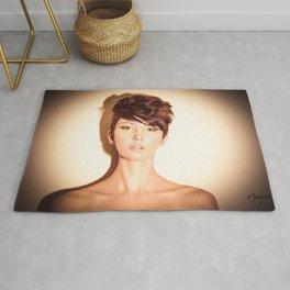 5647 Natasha Au Naturel - Boudoir Eros Studio Beauty Nude Rug