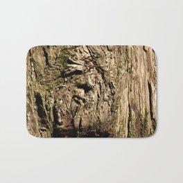 Face on a Tree Bath Mat