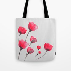 POPPIN' POPPIES  Tote Bag