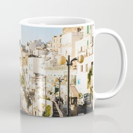 Afternoon in a white city Coffee Mug