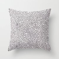 trippy Throw Pillows featuring trippy by Eliza L